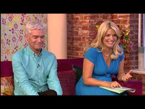 Phil is teased while chatting to Denise Van Outen   25th June 2014