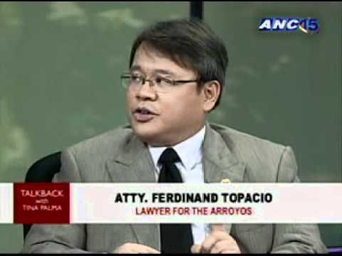 ANC Talkback: 2011: Aquino vs Arroyo? 3/3