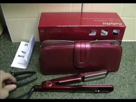 babyliss 2034u pro 230 radiance straightener youtube. Black Bedroom Furniture Sets. Home Design Ideas
