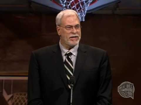 Phil Jackson's Basketball Hall of Fame Enshrinement Speech