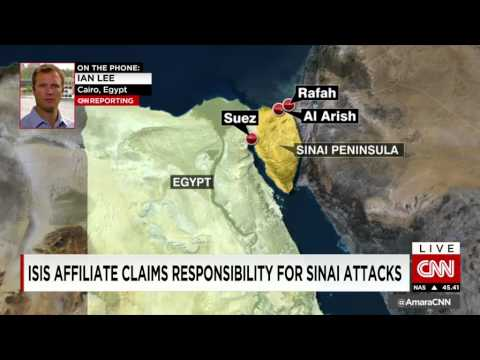 Sources: Dozens Killed By ISLAMIC STATE Affiliate In North Sinai Attack