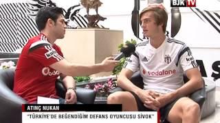 Genç Futbolcumuz Atınç Nukan'ın BJK TV Özel Röportajı
