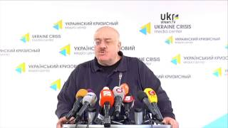 Kakha Bendukidze. Ukraine Crisis Media Center. March 13, 2014