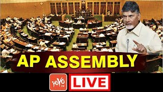 AP CM Chandrababu LIVE | AP Assembly Session Live 20-03-2018 |  YOYO TV Channel