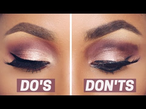 EYESHADOW DO'S AND DON'TS   DIMMA UMEH