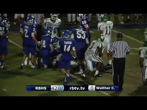 Football - RB vs. Walther Christian - Sep. 19, 2014