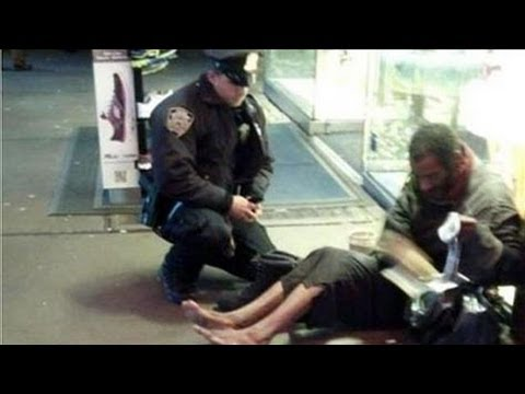 NYPD's Act of Kindness Goes Viral