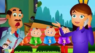 Five Little Babies | Baby Games - Nursery Rhymes & Kids Songs