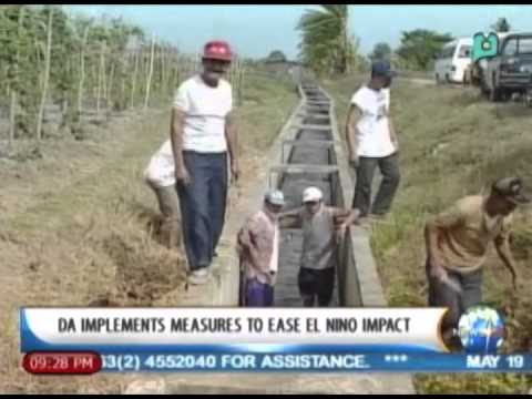 NewsLife: DA implements measures to ease El Niño impact || May 19, 2014