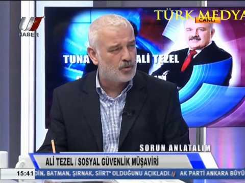 EMEKLİLİKTE YAŞA TAKILANLAR-ALİ TEZEL-SORUN ANLATALIM-UZAY TV-(26/11/2013)-TÜRK MEDYA SUNAR.