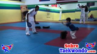 5 Basic Taekwondo exercises for children. Gabriel Mercedes