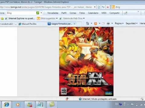 descargar juegos para psp sin hackear