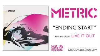 Watch Metric Ending Start video