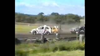 Autograss Rollovers and Crashes