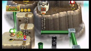 New Super Mario Bros. Wii 100% World Record Speed Run (3:34:50)