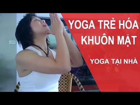Yoga Cho Khuôn Mặt -  Bài Tập Yoga Giúp Cho Cổ Chúng Ta Cao Hơn (Yoga Face)
