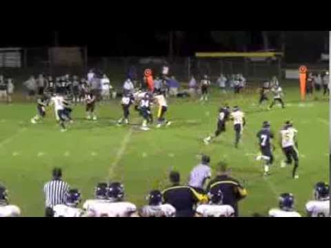 Franklin Christian Academy #7 Andrew Robison Aug 3 2013 7th Grade varsity WR