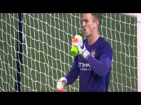 AS Roma vs Manchester City 2-2 Adem Ljajić Amazing Free Kick Goal HD