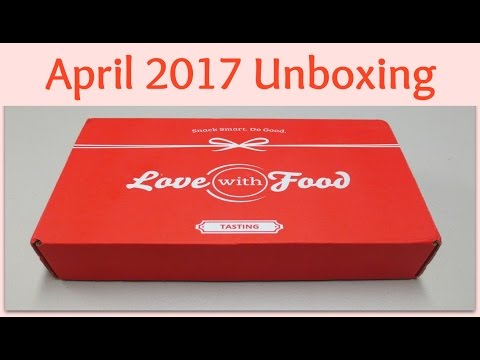 Love With Food Unboxing - April 2017 + Promo Codes!