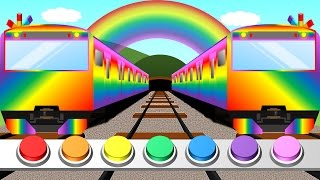Color train for Kids | Learn colors with train | educational animation