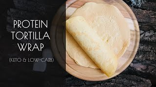 High-Protein Tortilla Wrap (Low-Carb, Gluten-Free & Keto-Friendly)