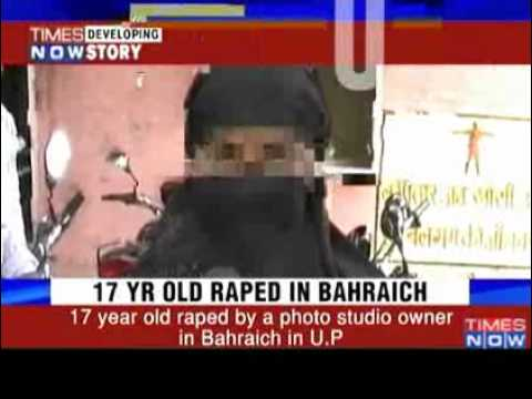 17 Year Old Girl Raped In Up By Photo Studio Owner   Video   The Times Of India video