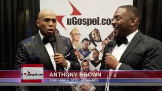 Anthony Brown talks with uGospel