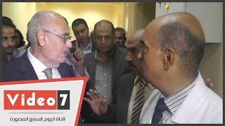 بالفيديو.. وزير الزراعة يفتتح مبني حديث لإنتاج مصل ضد إنفلونزا الطيور