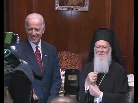 Ecumenical Patriarch Welcomes Vice President Biden to the Phanar