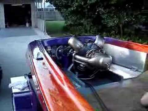 Turbine Powered Jet Boat