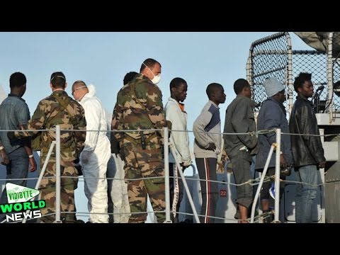 Watch : Italy Says 10 Migrants Die, 5800 Rescued in Ongoing Mission   More than 5,800 migrants have been rescued and 10 bodies recovered off the Libyan coast over the weekend, the Italian coastguard says.  The survivors were picked up from wooden and rubber boats, in 17 separate operations by Italian and French ships.
