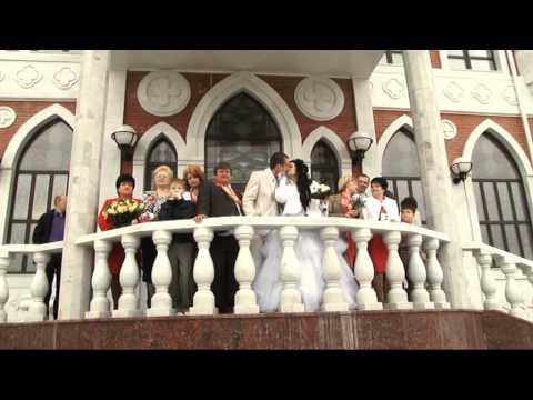 Свадебный рэп клип, поёт невеста
