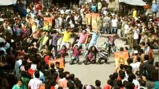 banglalink's flash mob celebrating it's 7th birthday