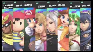 Super Smash Bros Ultimate Amiibo Fights   Request #1302 Battlefield 8 Player Smash