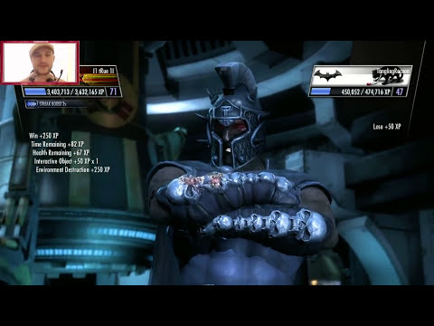 Lets play Injustice Gods among us RANKED with hilarious commentary! pt77 - ARES THE POWERHOUSE!