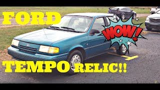 1994 Ford Tempo with 40k Original miles OVERVIEW