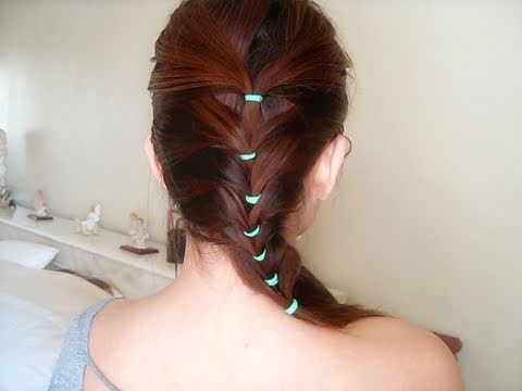 Hair Tutorial Cute And Simple Braid Inspired Hairstyle