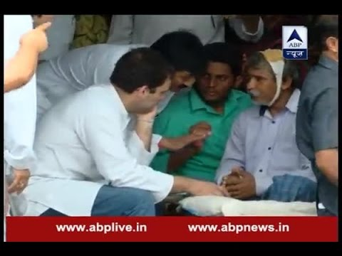Gujarat Dalit thrashing case: Rahul Gandhi meets families of deceased