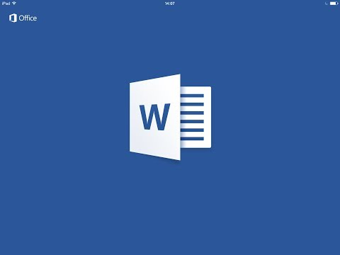 Microsoft Word HD Review - iPad, iPad Air, iPad Mini Retina InApp
