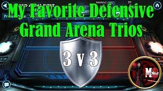 My 12 Favorite Grand Arena Trio Defensive Teams