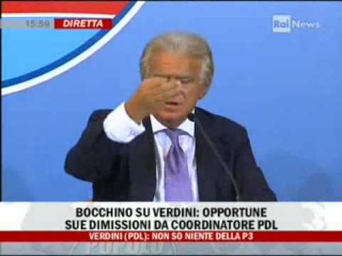 Conferenza stampa Verdini: lite furibonda tra Ferrara, Stracquadanio e Fusani (L'Unit)