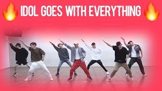 [KPOP CHOREOGRAPHY GOES WITH EVERYTHING] BTS - IDOL Version!