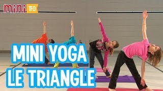 Mini Yoga : Le triangle