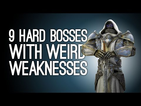 9 Hard Bosses with a Weird Weakness You Exploited Ruthlessly