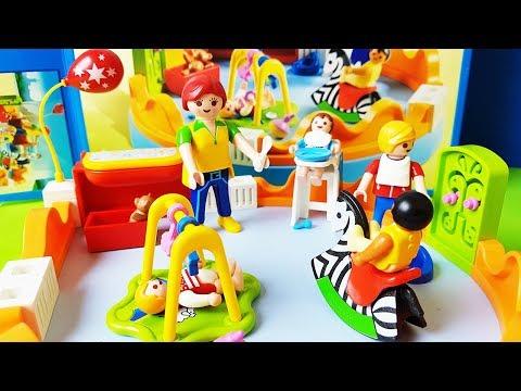 Playmobil Po Polsku - Przedszkole Playmobile I Plac Zabaw Dla Dzieci - Zabawki Bajki Dla Dzieci