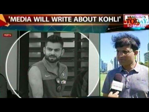 Virat Has To Understand How To Keep Cool: Sourav Ganguly