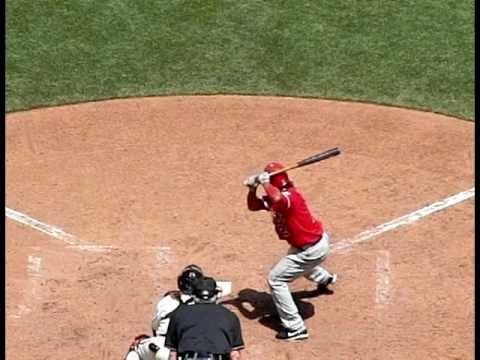 Erick Aybar hitting mechanics Video