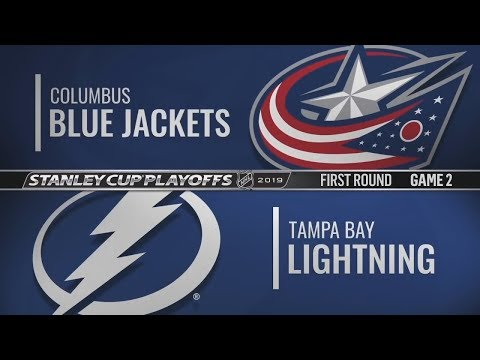 StanleyCup Playoffs | Columbus At Tampa Bay | Тампа-Бэй Vs Коламбус | НХЛ Плей-офф