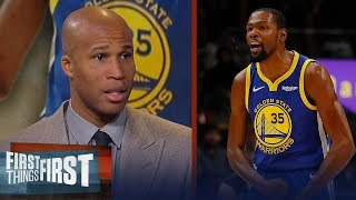 Richard Jefferson talks Kevin Durant's potential free agent landing spots   NBA   FIRST THINGS FIRST
