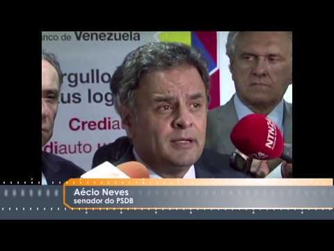 Século News 19/06/2015 - Senadores brasileiros Caracas